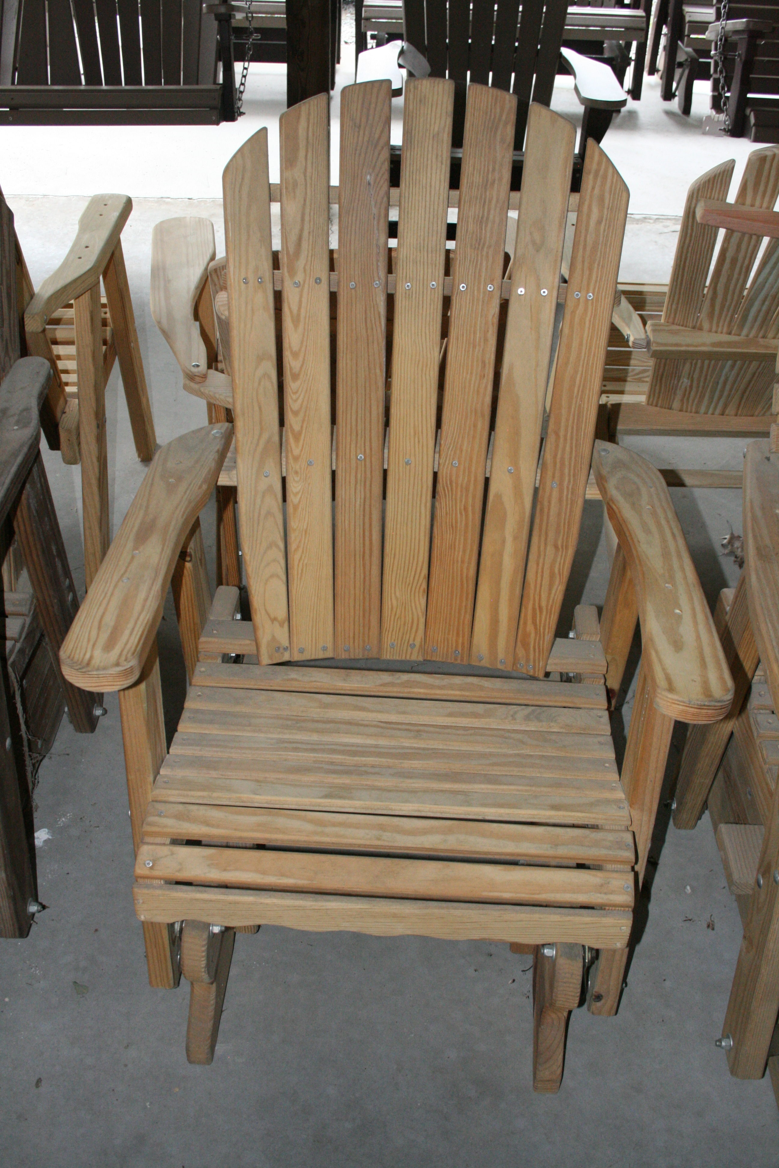 Adirondack Gliding Chair